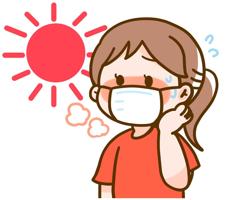 マスク熱中症