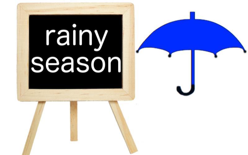 梅雨時期のむくみ