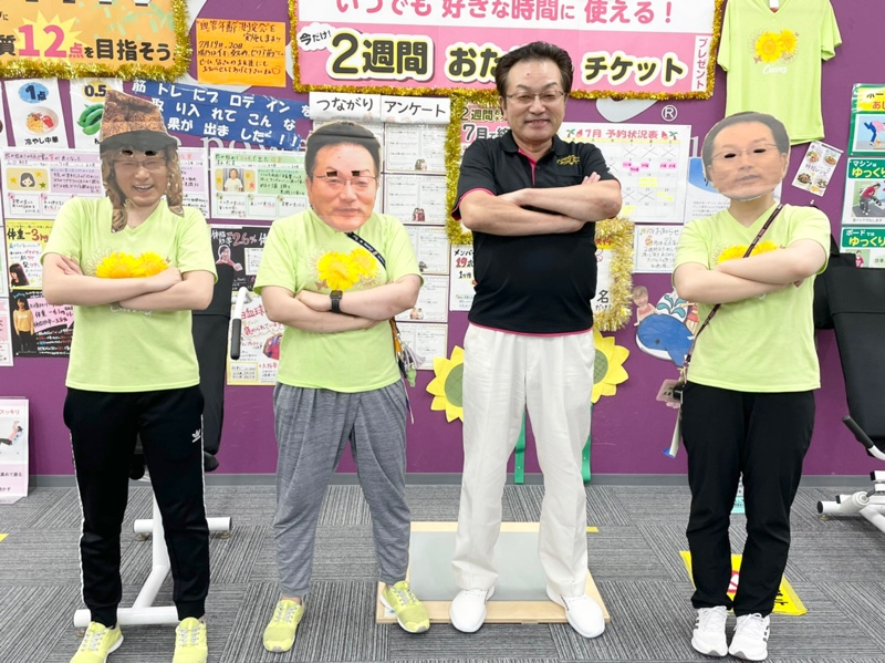 カーブス桑名新西方店8周年オーナーDAY